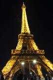 PARIGI - 4 SETTEMBRE: Manifestazione leggera di prestazione Immagine Stock