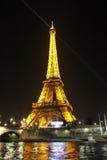 PARIGI - 4 SETTEMBRE: Manifestazione leggera di prestazione Fotografia Stock Libera da Diritti