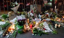 Parigi terrore attacco novembre 2015 Fotografia Stock