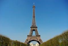 Parigi, Torre Eiffel Fotografia Stock