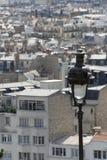 Parigi, una vista da Montmartre Fotografia Stock