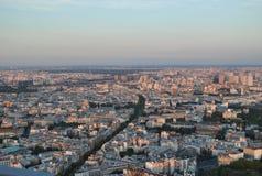 Parigi veduta dalla cima di Montparnasse Immagine Stock Libera da Diritti
