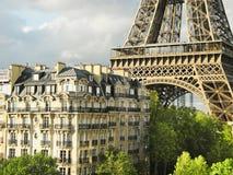 Parigi, vicino alla torre Eiffel Fotografie Stock Libere da Diritti