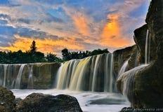Parigi waterfall. Nikon D7000 feat tokina 12-24mm Stock Photography