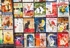Parigino Art Cards Immagini Stock Libere da Diritti