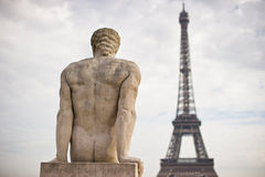 In Parijs Royalty-vrije Stock Foto's