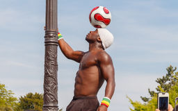 parijs Aantrekkelijkheid met de bal Royalty-vrije Stock Fotografie