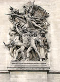 Parijs - Arc DE Triomphe [2] Royalty-vrije Stock Foto's