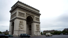 Parijs arc DE triomphe Stock Foto