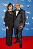 Parijs Barclay en Cheryl Boone Isaacs Stock Foto