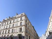 Parijs bij schemer Royalty-vrije Stock Afbeelding