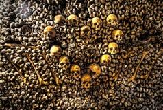 Parijs-catacombe-dood-1 Stock Fotografie