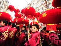 Parijs - Chinees nieuw jaar 2012 Stock Fotografie