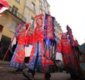 Parijs - Chinees nieuw jaar 2012 Royalty-vrije Stock Foto