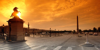 Parijs, concorde plaatst Stock Fotografie