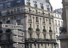 Parijs dat - naar het theater gaat Stock Foto's
