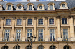 Parijs, de Plaats Vendome Stock Afbeeldingen