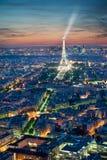 Parijs, de Toren van Eiffel Stock Foto
