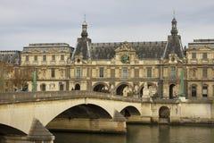 Parijs in een de herfsttijd Stock Fotografie