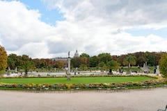 PARIJS, FRANKRIJK, 25 april, 2016: De Tuin van Luxemburg in Parijs, Frankrijk Stock Fotografie
