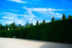 PARIJS, FRANKRIJK - AUGUSTUS 21, 2012: Franse paviljoen en tuin van Royalty-vrije Stock Foto