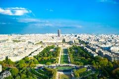 PARIJS, FRANKRIJK - AUGUSTUS 21, 2012: Franse paviljoen en tuin van Stock Foto's
