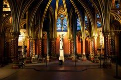 Parijs, Frankrijk, de Kapel van Heilige Stock Afbeelding