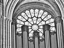 Parijs, Frankrijk 11/04/2007 De kathedraal van de Notredame royalty-vrije stock foto