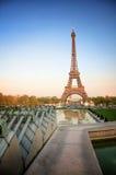 Parijs (Frankrijk) - de Toren van Eiffel Royalty-vrije Stock Afbeeldingen