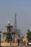 Parijs, Frankrijk, Eiffel, jaar 2010 Royalty-vrije Stock Fotografie