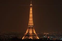 Parijs, Frankrijk, Eiffel, jaar 2010 Stock Foto's