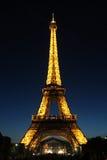 Parijs, Frankrijk en de Toren van Eiffel Stock Afbeeldingen