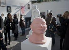 Parijs, Frankrijk, het Eigentijdse Tentoongestelde voorwerp van Kunsten, FIAC, Gr. Royalty-vrije Stock Foto's