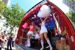 PARIJS, FRANKRIJK - Juni 25. de Vrolijke Trots van 2011 stock afbeeldingen