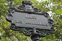 Parijs, Frankrijk - kunnen 23, 2014 - Beroemde Montmartre Stock Foto's