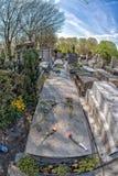 PARIJS, FRANKRIJK - MEI 2, 2016: Modiglianigraf in pere-Lachaise begraafplaats homeopaty stichter Royalty-vrije Stock Afbeeldingen