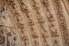 PARIJS, FRANKRIJK - OKTOBER 20, 2017: De Kathedraal van Notre Dame de Pari Notre Dame de Pari is middeleeuwse Katholieke kathedra royalty-vrije stock foto's