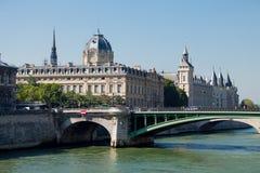 PARIJS, FRANKRIJK - September 24, 2013: mooie mening over prachtig Stock Fotografie