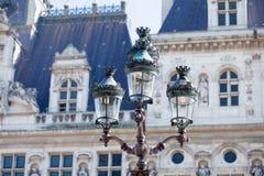 PARIJS, FRANKRIJK - September 24, 2013: mooie mening over uitstekend La Royalty-vrije Stock Afbeeldingen