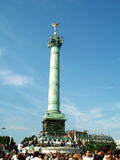 Parijs, Frankrijk, Vrolijke Trots, Place DE La Bastille Stock Afbeelding