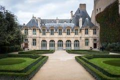 Parijs - Hotel DE Sully Stock Foto