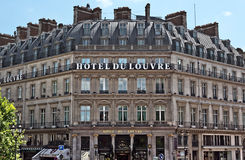 Parijs - Hotel du Louvre Royalty-vrije Stock Fotografie