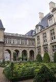 Parijs, 19 Juli: De Historische bouw van het Vendomeplein van Parijs in Frankrijk Royalty-vrije Stock Foto's