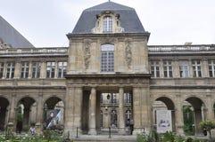 Parijs, 19 Juli: De Historische bouw van het Vendomeplein van Parijs in Frankrijk Stock Afbeeldingen