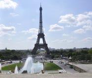 Parijs, 15 Juli: De Torenlandschap van Eiffel van Parijs in Frankrijk Royalty-vrije Stock Foto's