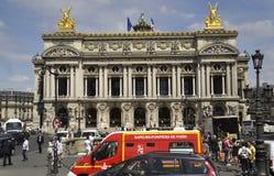 Parijs, 15 Juli: Opera Garnier Building van Parijs in Frankrijk Royalty-vrije Stock Afbeeldingen