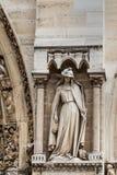 Parijs-kathedraal Notre Dame Stock Foto's