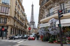 parijs Kerstmis Royalty-vrije Stock Foto's