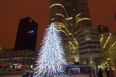 parijs Kerstmis stock fotografie