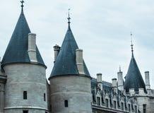 Parijs - La Consièrgerie, Palais DE Justice Royalty-vrije Stock Afbeeldingen